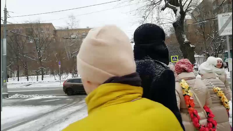 Трансляция Харинама ПРЕМА САНКИРТАНА, м.Белорусская 09.12.18