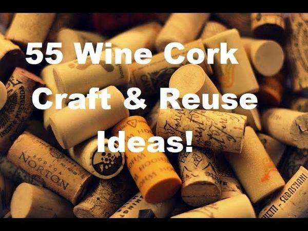 Wine Cork Crafts Reuse Ideas!