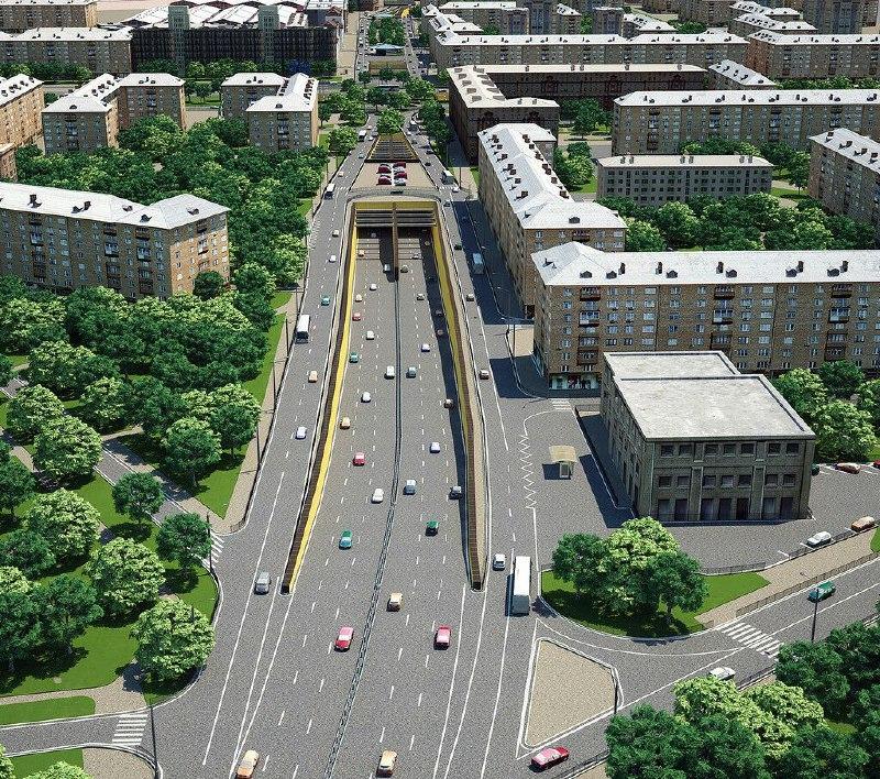 Движение на двух участках Ленинградского проспекта ограничили до 5 января