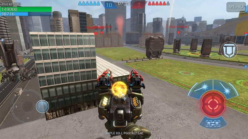 War Robots test server REBALANCE weapon and robots