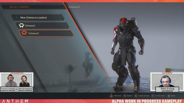 Anthem Developer Livestream featuring Lead Producer Ben Irving and BioWare guests! - AnthemGame