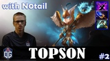 Topson - Skywrath Mage MID with N0tail (IO) Dota 2 Pro MMR Gameplay #2