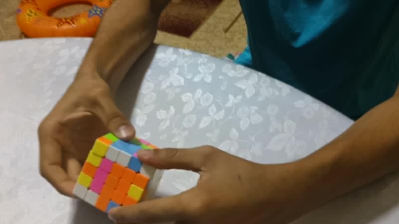 Сборка кубика рубика 5х5