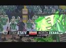 NCAAF 2018 New Mexico Bowl Utah State Aggies North Texas Mean Green 2H EN