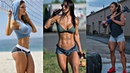 CRAZY AND STRONG AND FITNESS GIRL 💪🏻 MOTIVATION 🔥