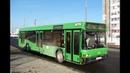 Автобус Минска МАЗ-103,гос.№ АР 7847-7, марш.23 (04.05.2018)