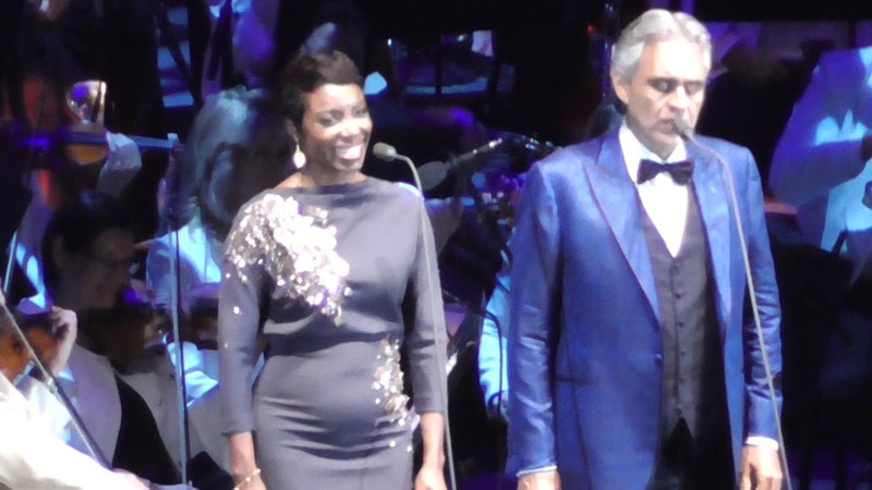 Andrea Bocelli Heather Headley Can't Help Falling In Love 2018