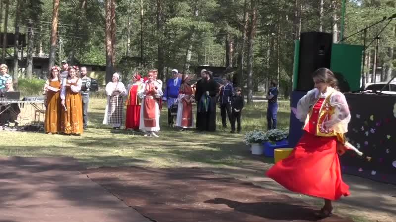 Праздник Пётра и Февронии Волонтёр Анечка Жевликова