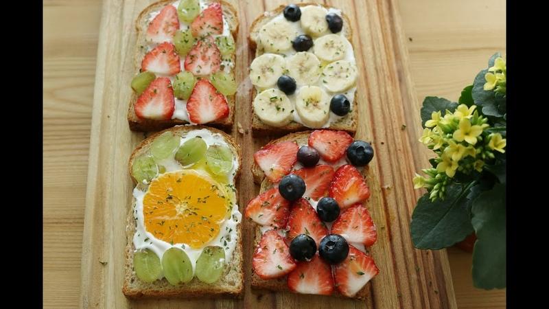 오픈샌드위치 how to make open sandwich :: 포치 pochi