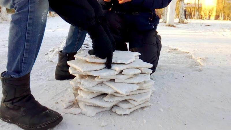 Испытания на прочность снежного бункера часть1