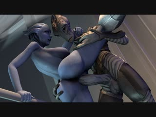 Liara sfm monster (mass effect sex)