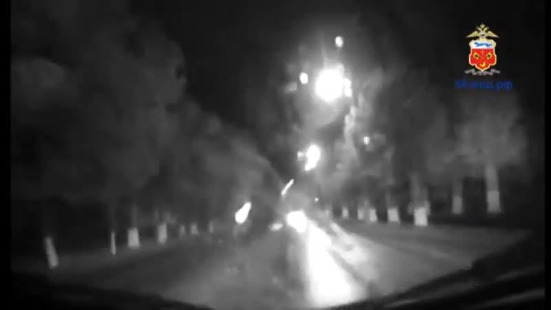 Погоня полицейских за нетрезвым водителем в Кувандыке