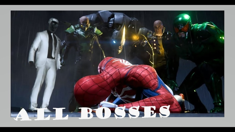 Marvels Spider-Man Official Only PS4 Walkthrough Part Bonus 1080p (All Boss)