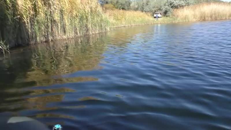 Рыбалка. Проверка лайфхака - монтаж с тройником на хвосте силиконовой приманки