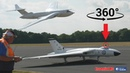 360 PANORAMIC ONBOARD 4K video: BIG AVRO VULCAN, VALIANT VICTOR BOMBERS (You control the view !)