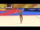 Дина Аверина обруч личное многоборье Чемпионат Мира 2018 Болгария София