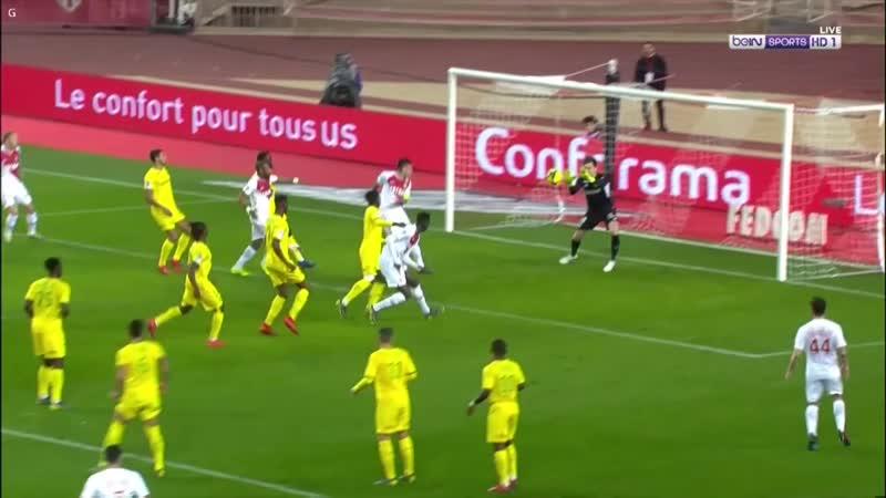 Монако 1:0 Нант | Французская Лига 1 2018/19 | 25-й тур | Обор матча