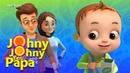 Johny Johny Yes Papa - Healthy Food   Nursery Rhymes Kids Songs   Baby Ronnie   Johnny Johnny