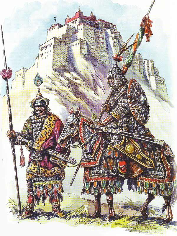 Тибетская тяжелая конница