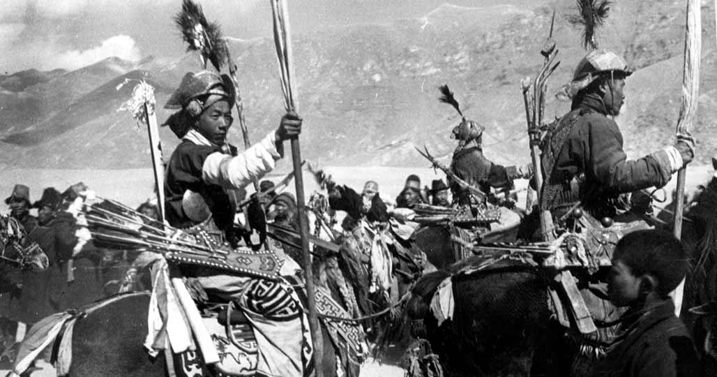 Тибетская кавалерия