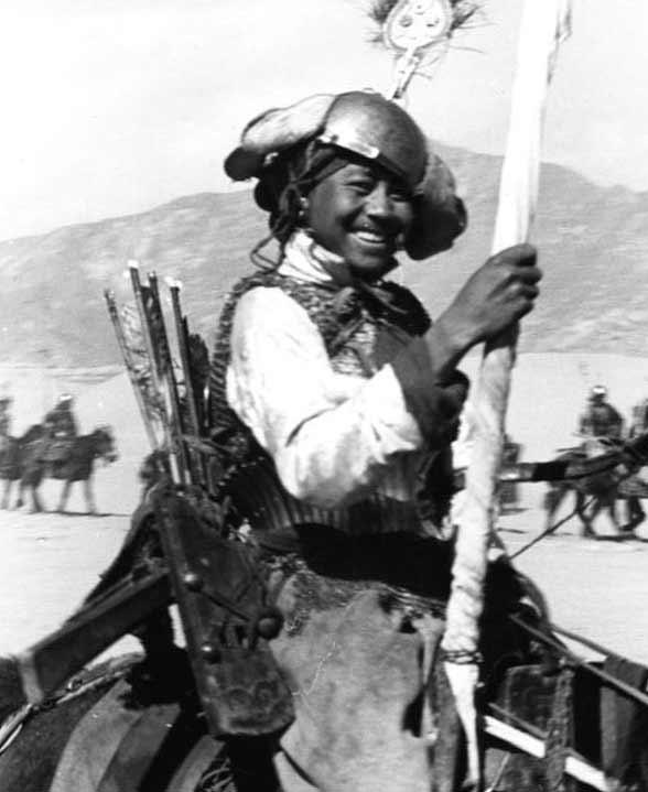 Тибетский всадник