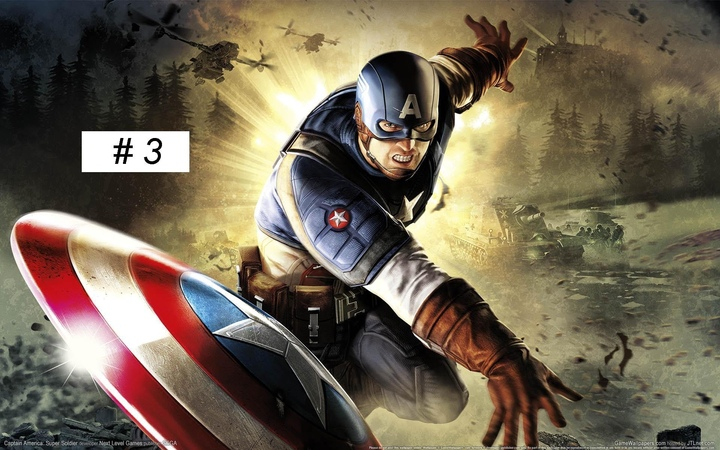 Captain America: Super Soldier gameplay Full Game walkthrough part 3 XBOX 360 PS 3