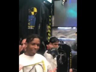 A$ap rocky танцует под трек xxxtentacion «look at me!»