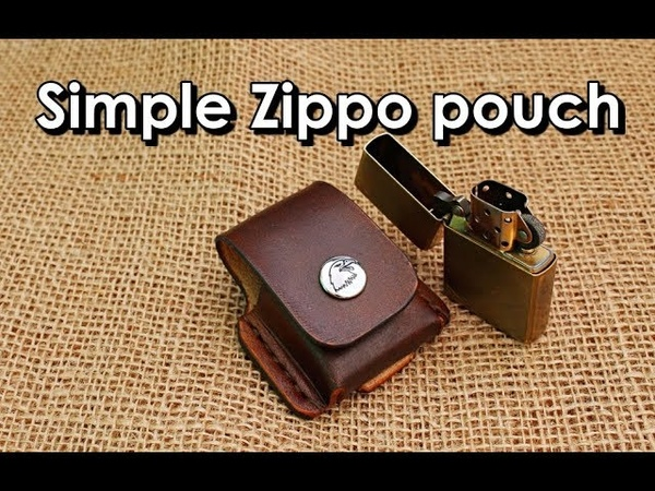 Making a simple Zippo pouch