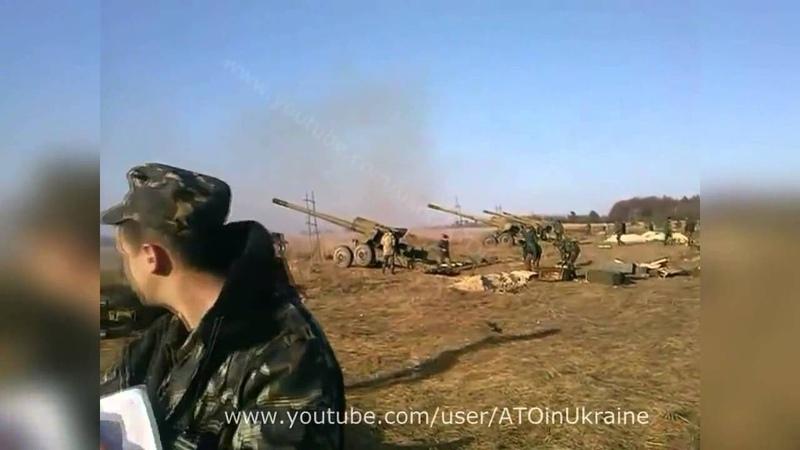Батарея Гиацинтов дает огня 05 05 2015