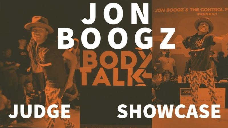 JON BOOGZ BODY TALK 2019 JUDGE SHOWCASE | Danceproject.info