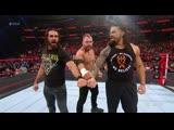 Roman Reigns, Seth Rollins and Dean Ambrose reunite as The Shield,