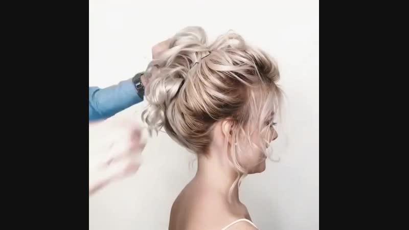 Завивка волос mp4
