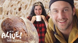 Brad and Claire Make Sourdough Bread It's Alive Bon App