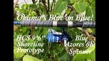 Okuma's Blue On Blue! NEW Prototype HCS Rod!