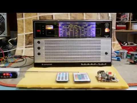 Океан 209 Перестройка на FM... О Моей Методике ,о питании от аккумуляторов ...