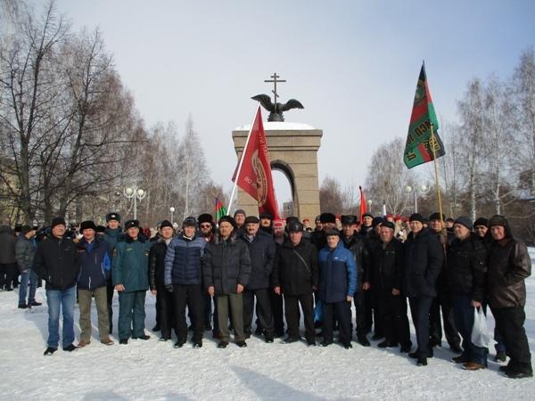 Об Афганских огненных вехах в Новоуральске помнят