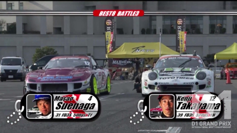 D1GP 2010 Rd.1 at Odaiba 4.
