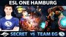 SECRET vs EG First EPIC SERIES of the Day ESL ONE Hamburg Group Stage Dota 2