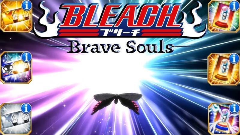 ОТКРЫТИЕ БИЛЕТОВ НА ПЕРСОНАЖЕЙ И АКСЕССУАРЫ | Bleach Brave Souls 571