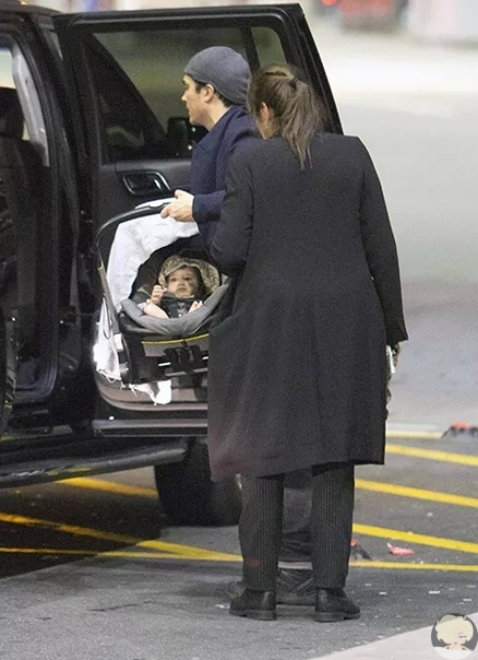 Йен Сомерхолдер и Никки Рид впервые показали дочь