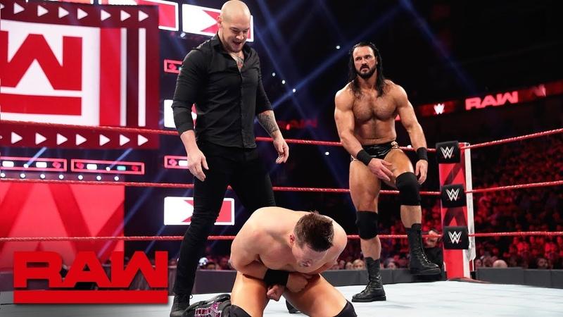 [BMBA] The Miz vs. Drew McIntyre vs. Baron Corbin: Raw, April 22, 2019