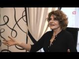 Фанни Ардан Fanny Ardant - Интервью 5 канал (сентябрь 2018)