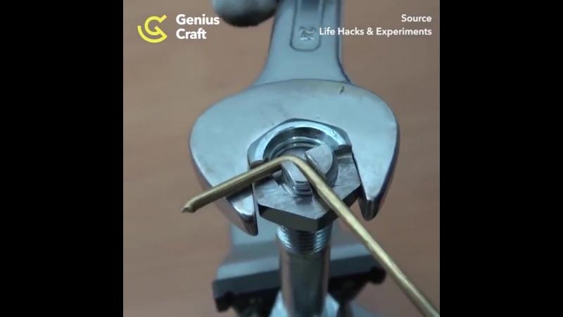Самодельный инструмент для загибания жесткой проволоки