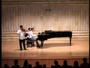 Astor Piazzolla Oblivion for Violin and Piano   Joo Young Oh