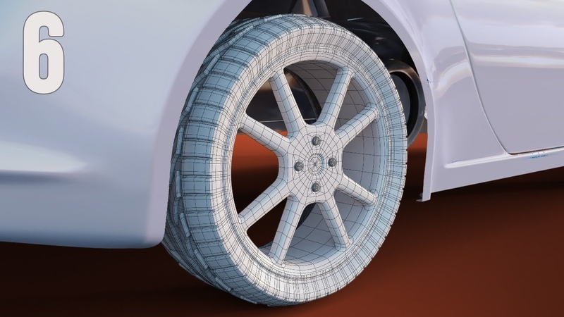 CGC Classic Modeling a Porsche Pt. 6 - Wheel Rims and Tire Treads (Blender 2.6)