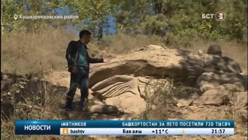 Жители Башкирии утверждают, что увидели дракона