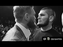 Khabib and Conor McGregor First Face Off