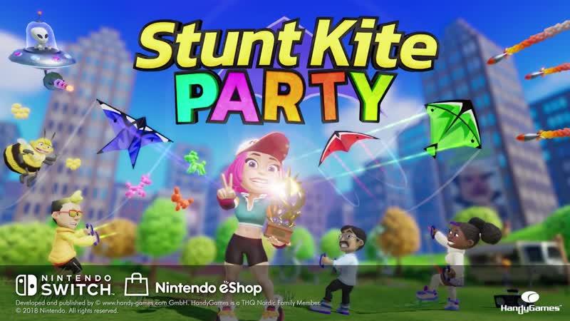 Stunt Kite Party - Геймплейный трейлер (Nintendo Switch)