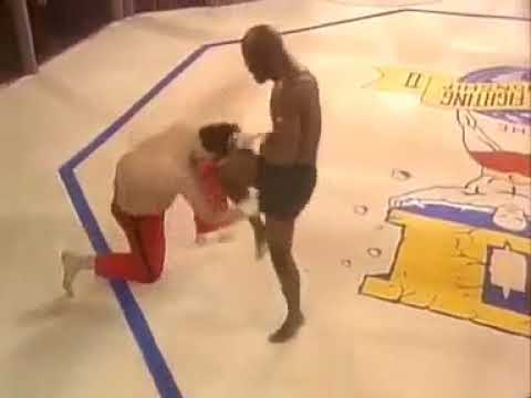 Brutal knockout