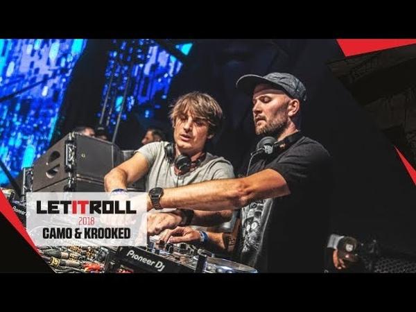 CAMO KROOKED DJ set   Let It Roll 2018